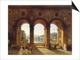 Ponte Vecchio, c.1811 Posters by Lancelot Théodore Turpin De Crissé