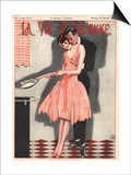 La Vie Parisienne, Erotica Glamour Womens Art Deco Cooking Magazine, France, 1926 Posters