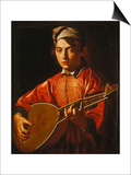The Lute Player Posters by  Caravaggio