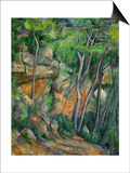 In the Park at Chateau Noir, 1898-1900 Prints by Paul Cézanne