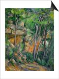 In the Park at Chateau Noir, 1898-1900 Prints by Paul Cézanne