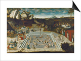 The Fountain of Youth, 1546 Posters by Lucas Cranach the Elder