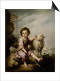 The Good Shepherd, Ca. 1660, Spanish School Posters by Bartolome Esteban Murillo