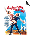 An American In Paris, 1951, Directed by Vincente Minnelli Posters
