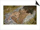 Embrace Posters by Egon Schiele
