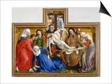 Deposition, circa 1436 Prints by Rogier van der Weyden