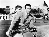 "Audrey Hepburn, Gregory Peck. ""Roman Holiday"" 1953, Directed by William Wyler Prints"