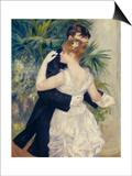 City Dance, c.1883 Posters by Pierre-Auguste Renoir