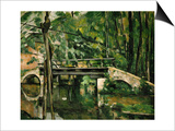 The Bridge at Maincy, Near Melun, 1879 Prints by Paul Cézanne