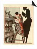 La Vie Parisienne, Georges Pavis, 1924, France Art