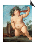 Bacchus As a Boy Prints by Guido Reni