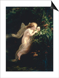The Spirit of Morning Posters by Fritz Zuber-Buehler