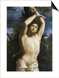 St. Sebastian Prints by Guido Reni