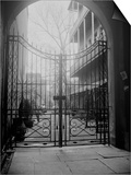 New Orleans' French Quarter is Famous for its Intricate Ironwork Gates and Balconies Prints