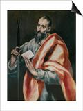 Saint Paul, the Apostle Prints by  El Greco