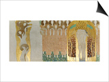 The Beethoven Frieze Posters by Gustav Klimt