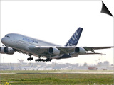 Airbus A380, the World's Largest Passenger Plane, Takes Off Successfully on its Maiden Flight Prints