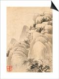 Album de huit feuilles : paysages Posters by Wutian Wang