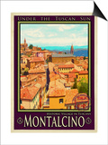 Montalcino Tuscany 1 Posters by Anna Siena