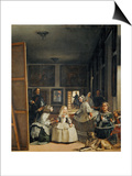 Las Meninas (With Velazquez' Self-Portrait) or the Family of Philip IV, 1656 Prints by Diego Velázquez