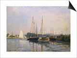 Sailing Boats, Argenteuil, about 1872/73 Print by Claude Monet