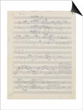 Etudes pour piano : esquisses, étude n°2, 2e cahier Posters by Achille-Claude Debussy