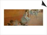 Dancers Climbing a Staircase, circa 1886-1888 Posters by Edgar Degas