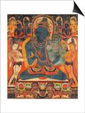 L'âdibuddha Vajrasattva (rDo-rje semsdpa') et sa parèdre Prints