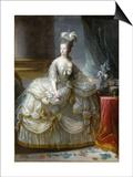 Marie-Antoinette de Lorraine-Habsbourg, archiduchesse d'Autriche, reine de France (1755-1795) Prints by Brun Elisabeth Louise Vigée-Le
