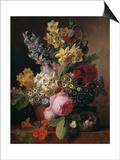 Bouquet Print by Jan Frans van Dael