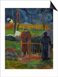 Bonjour, Monsieur Gauguin, Self-Portrait, Hommage a Courbet Prints by Paul Gauguin