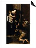 Madonna Dei Pellegrini Prints by  Caravaggio