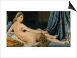 The Great Odalisque, 1814 Prints by Jean-Auguste-Dominique Ingres