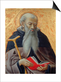 Saint Anthony of Egypt Posters by  Master of the Osservanza