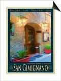 San Gimignano Tuscany 9 Posters by Anna Siena