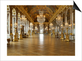 The Hall of Mirrors (State after Restoration in 2007) Posters