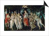 La Primavera (Spring), 1477 Print by Sandro Botticelli