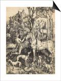 Saint Eustache Posters by Albrecht Dürer
