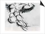 Study of a Nude Posters by Umberto Boccioni