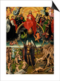 Triptych with the Last Judgement Posters by Hans Memling
