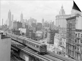 Third Avenue EL, New York, New York Prints by John Lindsay