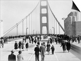 Golden Gate Opening, San Francisco, California, c.1937 Posters
