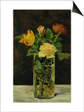 Roses and Tulips, 1882 Prints by Édouard Manet
