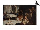 Washing of the Feet Posters by Jacopo Robusti Tintoretto
