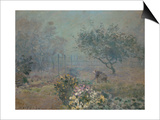 Fog, 1874 Prints by Alfred Sisley