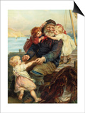 Who Do You Love Prints by Frederick Morgan