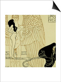 Calendar Page for January 1901, For Ver Sacrum Magazine, Austria Posters by Gustav Klimt