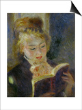 The Reader (La Liseuse), 1874-1876 Prints by Pierre-Auguste Renoir
