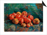 Apples Posters by Vincent van Gogh