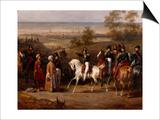 Episode de l'expédition de Morée en 1828- Prise de Coron par le général de  Poster by Hippolyte Lecomte